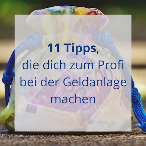 11 Tipps für die Geldanlage - SIGMAone